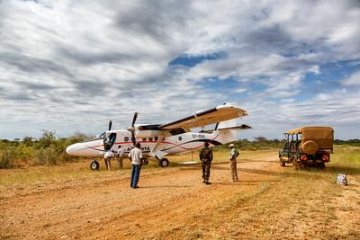 Bumpy landing at Meru